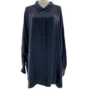American Retro Black Payton Oversized Shirt